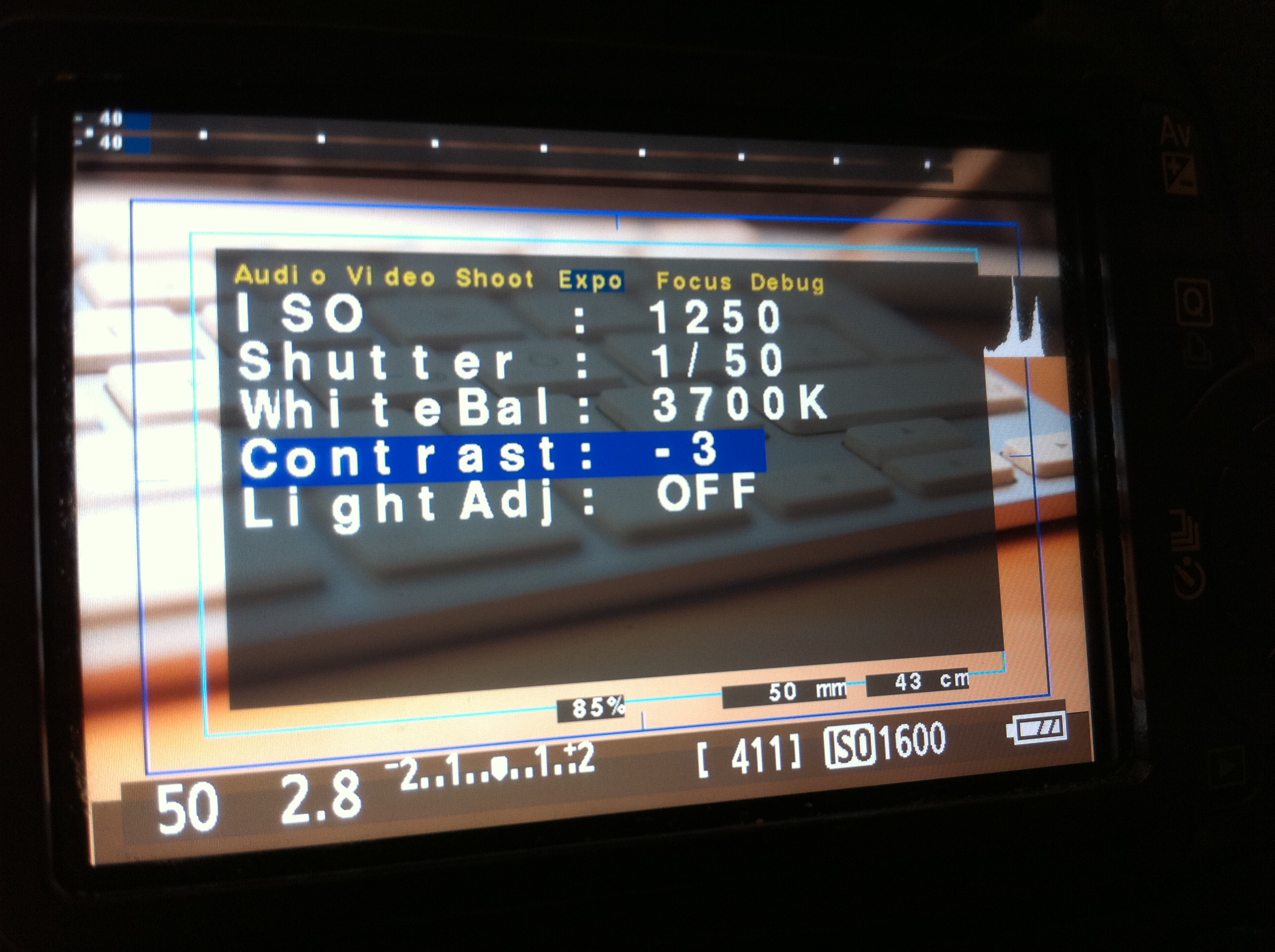 Magic Lantern Firmware für die Canon 550D