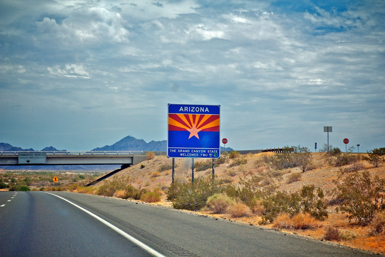 Welcome to Arizona the Jimmy eat World State :)