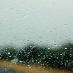 Manchmal hat es auch geregnet.