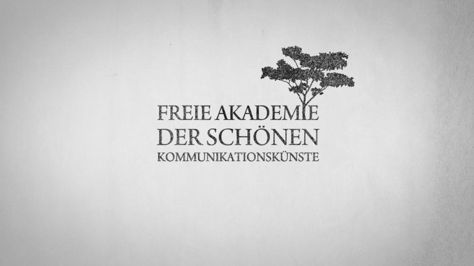 Die Eröffnung der Freien Akademie der schönen Kommunikationskünste