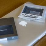 Patient, neue Samsung SSD sowie der Hardwrk-Adapter