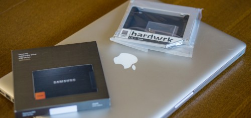 Macbook early 2011 - SDD Erweiterung mit hardwrk Kit.