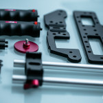 Gearbox DSLR Cage in Einzelteilen