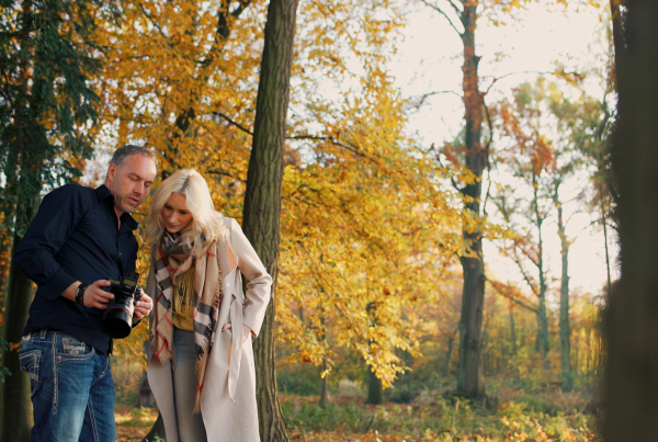 Nachlik Photography – an autumn photoshoot portrait